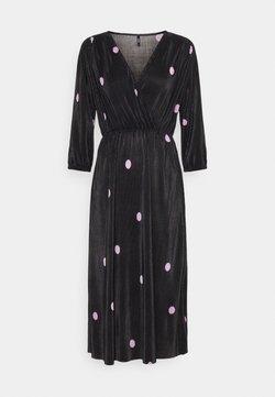ONLY Petite - ONLLENA BALOON DRESS - Freizeitkleid - black