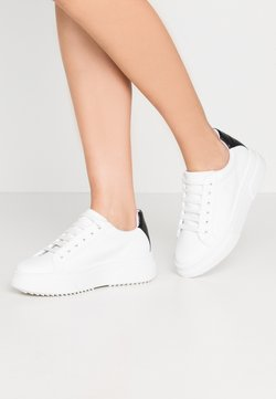 Topshop - CANADA LACE UP TRAINER - Sneaker low - monochrome