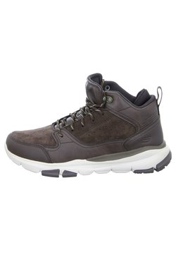 Skechers - SOVEN - Sneaker high - dark brown