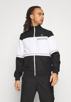 Lacoste Sport - TRACK SUIT - Trainingsanzug - black/white