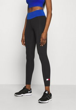 Tommy Hilfiger - FULL LENGTH LEGGING LOGO - Trikoot - black