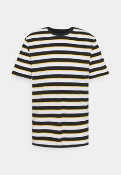 Only & Sons - ONSVIGGO LIFE STRIPED TEE - T-Shirt print - dark navy