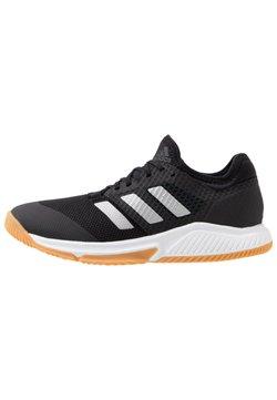 adidas Performance - COURT TEAM BOUNCE - Zapatillas de balonmano - core black/silver metallic/footwear white