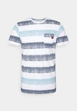 INDICODE JEANS - HERNANDEZ - T-Shirt print - blue wave