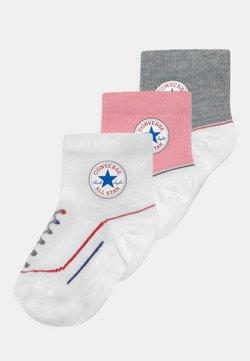 Converse - CHUCK INFANT QUARTER 3 PACK UNISEX - Calcetines - coastal pink