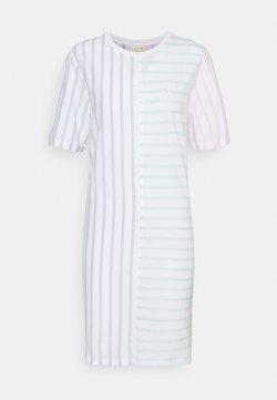 Tommy Hilfiger - ICON BLOCK SHIFT SHORT DRESS - Jerseykleid - multi brenton