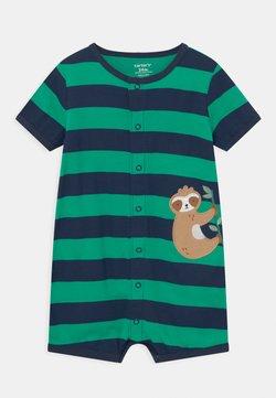 Carter's - SUR STRIPE - Overall / Jumpsuit - green/dark blue