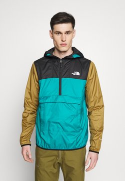 The North Face - M FANORAK - Windbreaker - teal/black/khaki