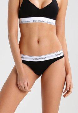 Calvin Klein Underwear - MODERN THONG - String - black