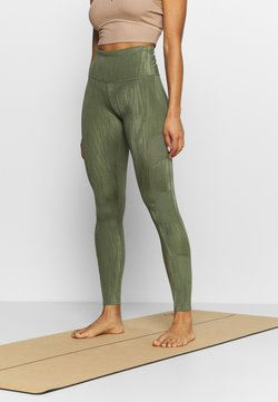 Hunkemöller - MAKE ME ZEN LEGGING - Tights - four leaf clover