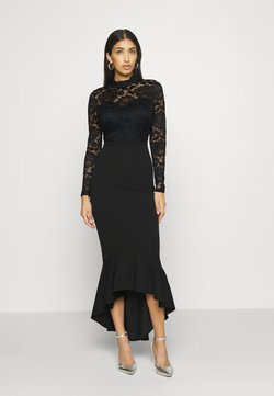 WAL G. - LONG SLEEVE MIDI DRESS - Vestito elegante - black