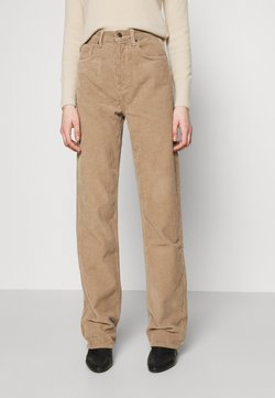 Topshop - RUNWAY - Jeans Relaxed Fit - taupe