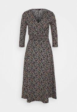 ONLY - ONLZILLE NAYA 3/4 DRESS - Day dress - black