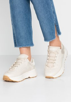 NA-KD - ROUNDED CHUNKY TRAINERS - Sneakers laag - nude