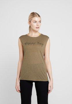 Yogasearcher - VISHNU  - T-Shirt print - kaki