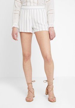 Vero Moda - VMANNA MILO STRIPE - Shorts - snow white/night sky