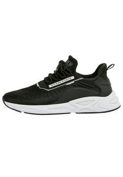 PULL&BEAR - MIT SLOGAN - Sneaker low - black