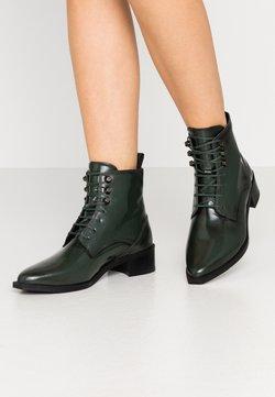Royal RepubliQ - ELITE SQUARE MIDCUT - Veterboots - dark green
