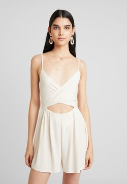 Nly by Nelly - CUT OUT PLAYSUIT - Combinaison - beige