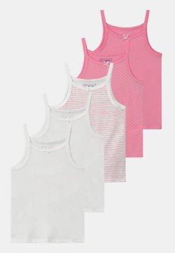 Friboo - 5 PACK - Unterhemd/-shirt - white/pink