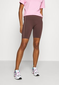 NU-IN - TONI DREHER X nu-in GENESIS SEAMLESS CYCLING SHORTS - Shorts - brown/pink