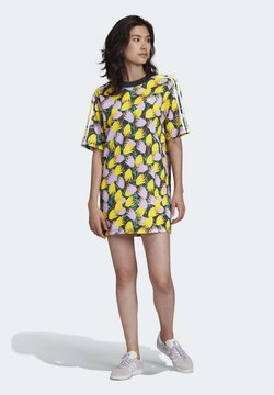 adidas Originals - BELLISTA TEE DRESS - Kjole - yellow
