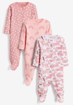 Next - 3 PACK - Pijama de bebé - pink