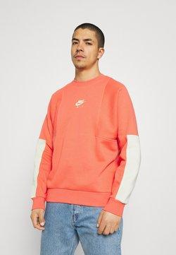 Nike Sportswear - AIR CREW - Sweatshirt - magic ember/lime ice