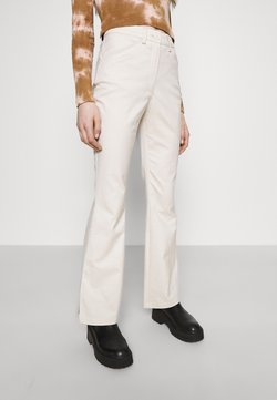 Monki - RAMONA TROUSERS - Flared Jeans - solid