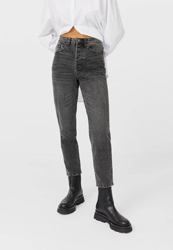 Stradivarius - Jeans Relaxed Fit - dark grey