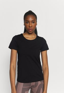 Casall - ICONIC TEE - T-Shirt basic - black