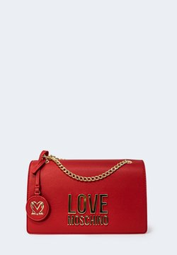 Love Moschino - BONDED LOGO - Borsa a tracolla - red