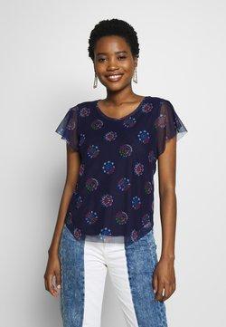 Desigual - VARSOVIA - T-shirt print - estate blue