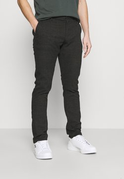 Cotton On - Chinos - charcoal prince of wales