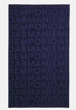 Emporio Armani - UNISEX - Beach towel - blue