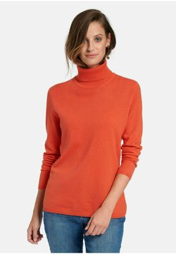 Include - Strickpullover - papaya