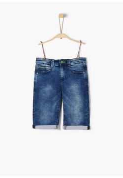 s.Oliver - Jeansshort - blue denim