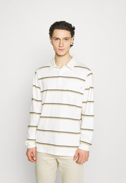 Wood Wood - BECK LONG SLEEVE - Polo - offwhite