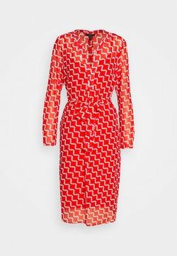 Esprit Collection - FLUENT GEORGE - Korte jurk - red orange