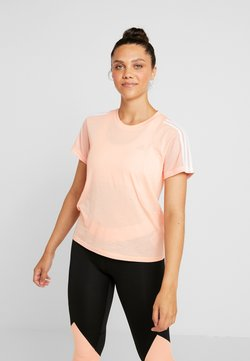 adidas Performance - Printtipaita - glow pink