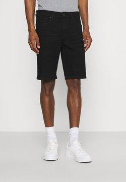 Solid - RYDER  - Shorts di jeans - black denim