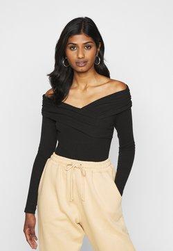 Fashion Union Petite - SWIFT - Langarmshirt - black