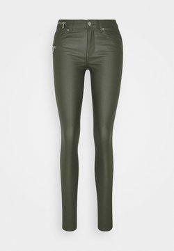 ONLY - ONLCARMEN REGULAR SKI ZIP  - Trousers - kalamata