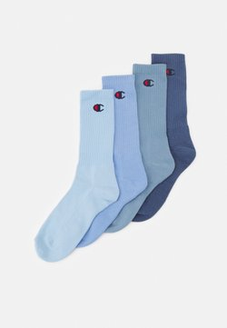 Champion - PASTEL CREW SOCKS 4 PACK UNISEX - Calcetines de deporte - shades of blue