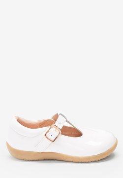 Next - Ballerinat nilkkaremmillä - off-white