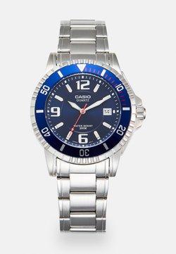 Casio - Uhr - silver-coloured/blue
