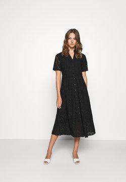 YAS - YASHOLI LONG  SHIRT DRESS  - Maxikjoler - black