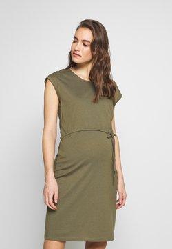 Anna Field MAMA - NURSING Jersey dress - Vestido ligero - burnt olive