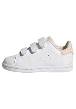 adidas Originals - STAN SMITH CF I ORIGINALS PRIMEGREEN SNEAKERS SHOES - Baskets basses - ftwr white/haze coral/ftwr white
