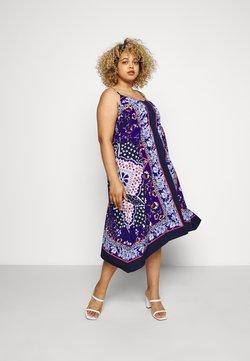 CAPSULE by Simply Be - HANKY HEM DRESS - Freizeitkleid - multi coloured